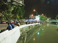 Бангкок вечером. Еще один канал.