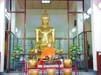 Бангкок. Wat Benchama Bophit