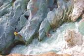 2-я щель каньона Джамансу.