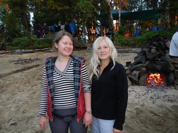 Катя и Алина