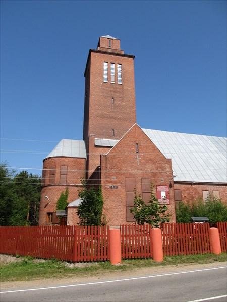 Церковь в Севастьяново