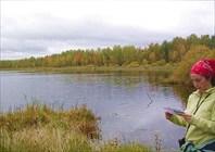 озеро возле д.Дубки
