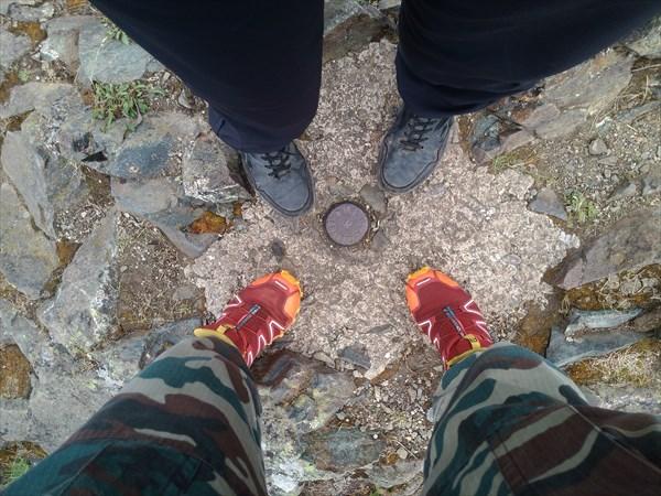 Вершина Старика Камня. 755,4 м.