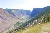 Перевал Кату-Ярык (перепад высоты 800 м)