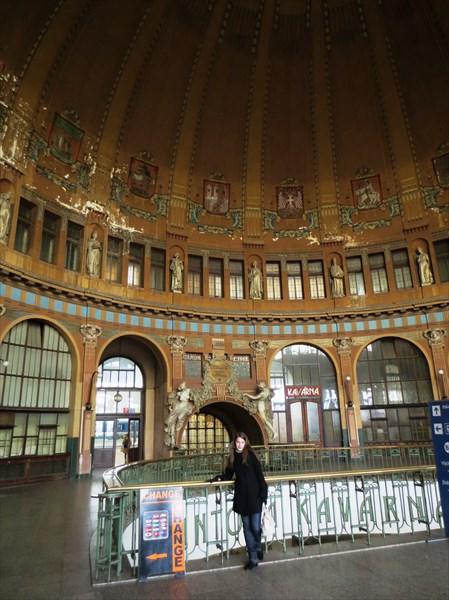 Главный вокзал Праги 1901-09 гг.