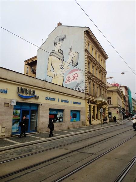 Реклама в Праге