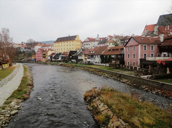 Река Влтава Чески Крумлов