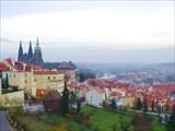 Страговский монастырь вид на Прагу