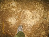 Своды киселевской пещеры. Третий грот. `Пол`