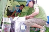 загрузка продуктовой палатки