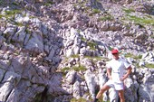 Пещера Соломинка. Небольшая пока.