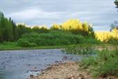 Закат на Усть-Илыче