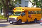 Bolton. School bus