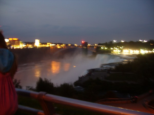Niagara Falls. Butterflies