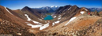 Долина Паспалагачиоюк с перевала томич