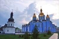 Михайловский Златоверхий монастырь-город Киев