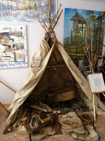 В байкитском музее