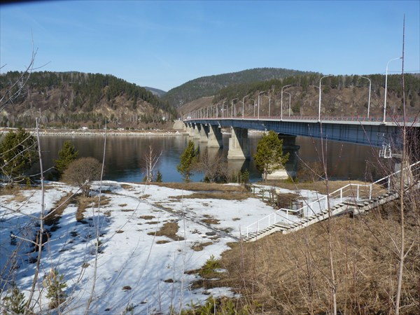 Водохранилище дивногорской ГЭС