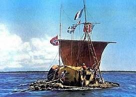 на фото: Kon-Tiki