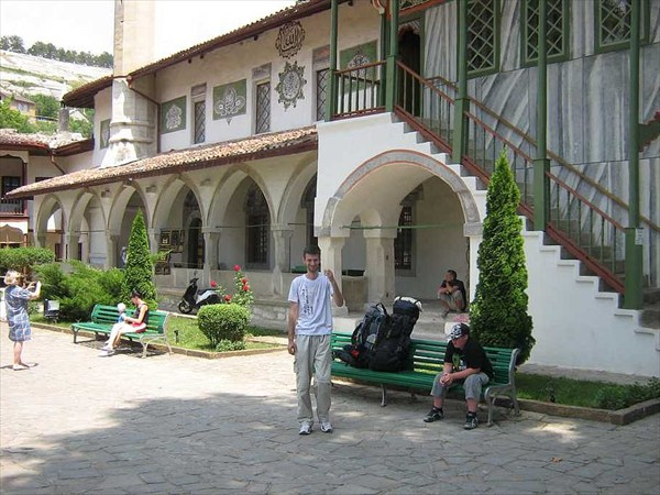 Внутри Ханского дворца