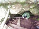 Киселевская пещера. Спуск