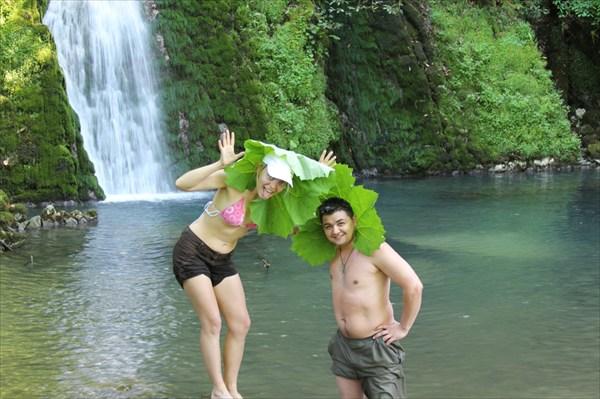 4-ий водопад Хабю