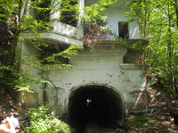 Туннель перед шахтой №8