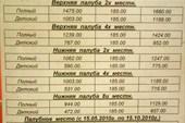 тарифы из Ванино