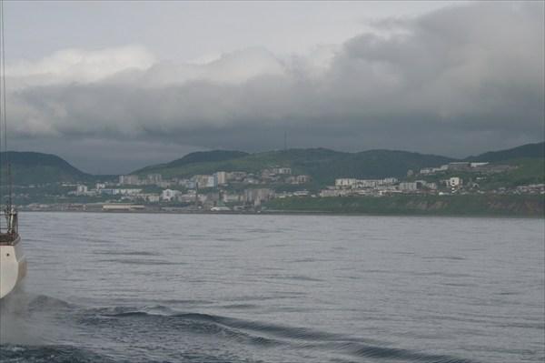 город Холмск - морские ворота Сахалина
