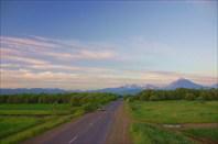 Камчатка. Дорога к Петропавловску-Камчатскому