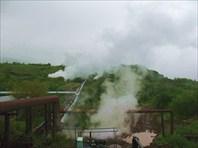 Камчатка. Паужетская геотермальная электростанция