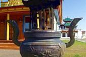 Узонский дацан, бойпур - курильня для благовоний