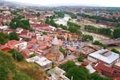 Тбилиси, вид сверху