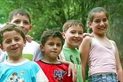 дети в ботсаде