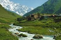 Сванетия. община Ушгули