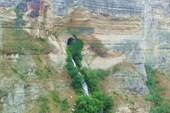 Водопадик на Чиркейской ГЭС