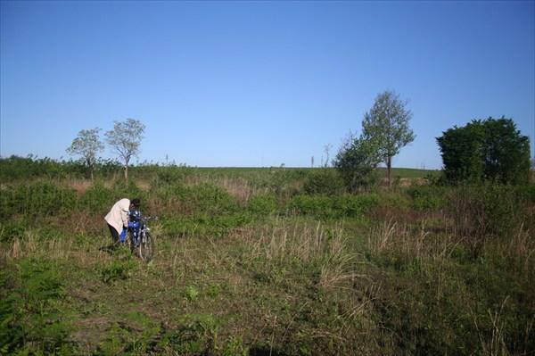 Стоянка в поле