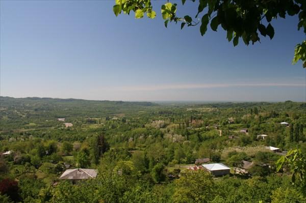 Вид на село Агубедиа