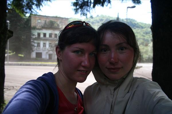 Краснокожие индейцы в Абхазии!