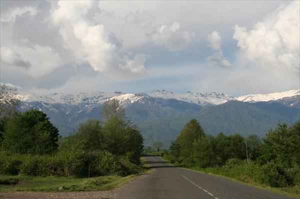 Дорога от Ткуарчала в Очамчыру