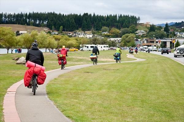 Велодорожка в Ванаке.