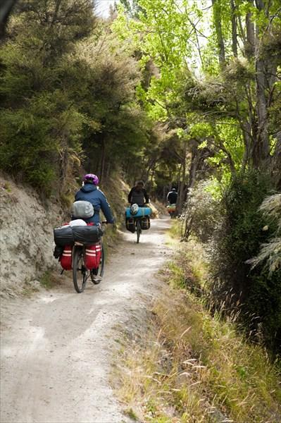 Ванака. Местная велодорожка.