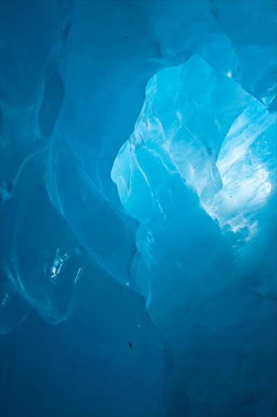 Ледник Фокс. Ледяная пещера.