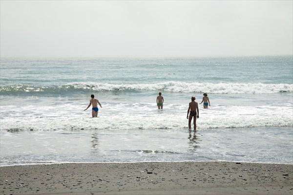 Долгожданное купание в Тасмановом море!