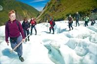 Ледник Фокс. Пеший трек.