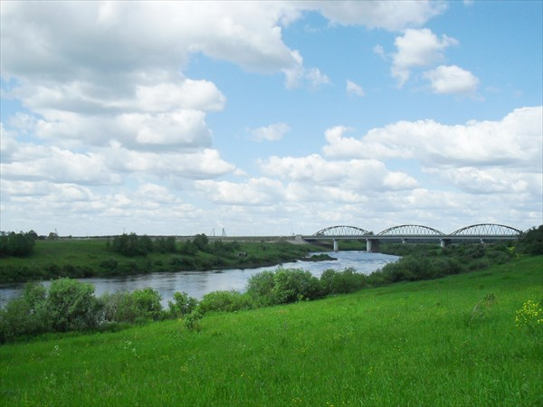 Река Угра.