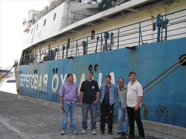 Мы покидаем порганичный Каматский порт
