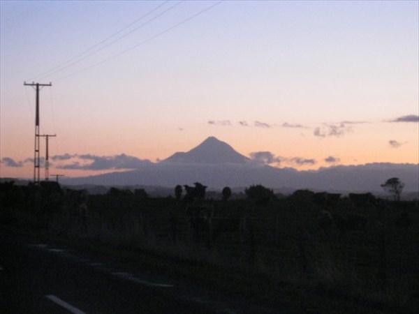Зеландия вечером