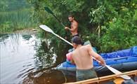 рыбалка веслами (для забывших дома удочки)