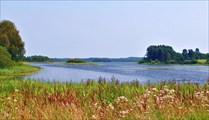 село Озерное, старт на оз.Волобо